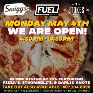 Swiggs - Open May 4th